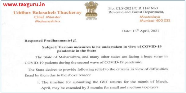 DUE DATES FOR MARCH 2021 OF ALL GST RETURNS