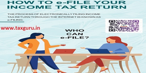 How to e-File your ITR
