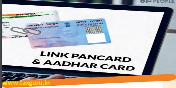 Link PAN Card & Aadhar Card
