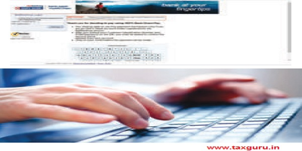 Login to the net-banking portal of selected bank