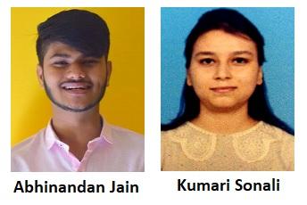 Abhinandan Jain and Kumari Sonali