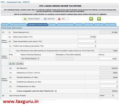 Sahaj Indian Income Tax Return-3