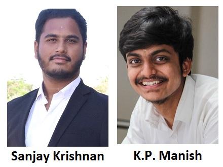 Sanjay Krishnan & K.P. Manish