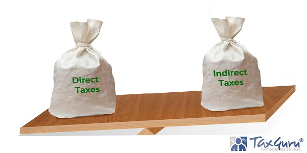 Balance between direct and indirect taxes