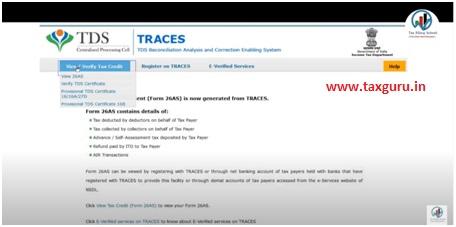 Click View Tax Credit