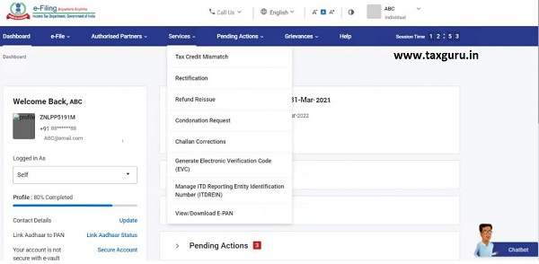 Dashboard and Worklist (Taxpayer) User Manual 24
