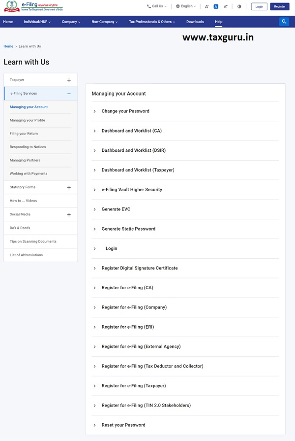 Dashboard and Worklist (Taxpayer) User Manual 27