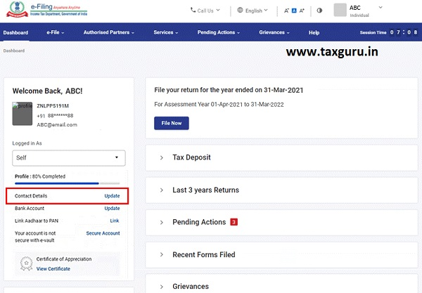 Dashboard and Worklist (Taxpayer) User Manual 5