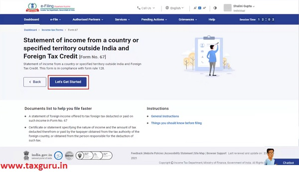 Foreign Tax Credit