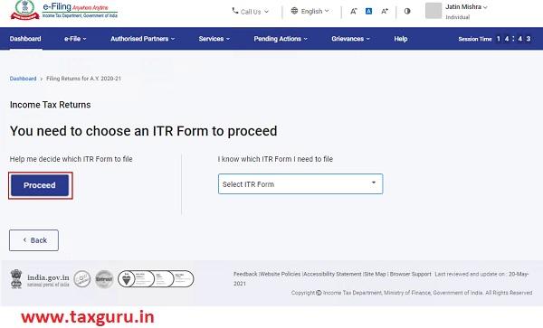 Form ITR – 1 Image 12