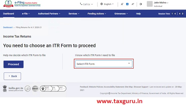 Form ITR – 1 Image 13