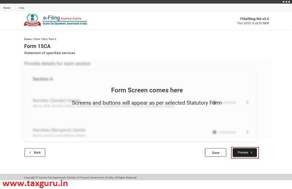 Form Screen
