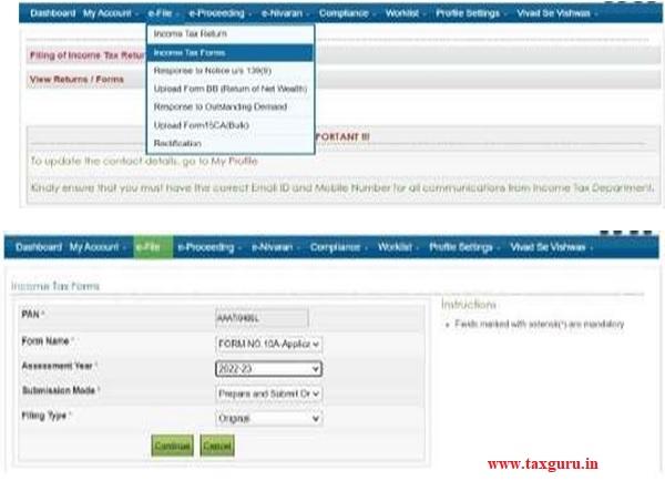 Income Tax Portal