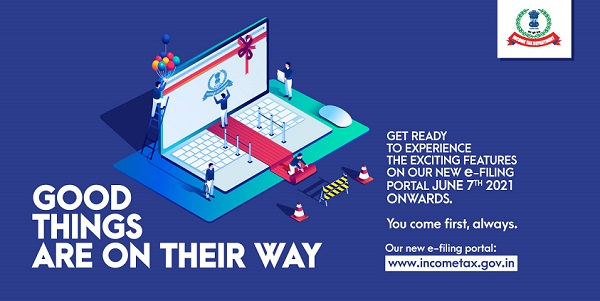 New Income Tax Portal from 7th June 2021