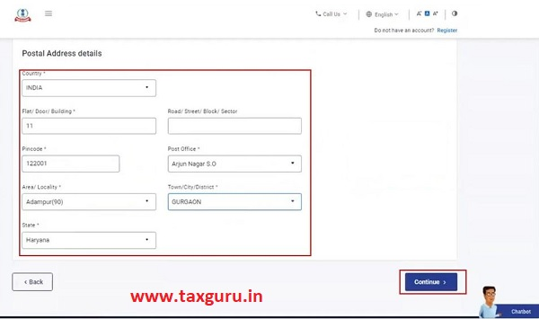 Register for e-Filing (Tax Deductor and Collector) Image 6
