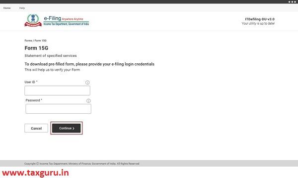 e-Filing user