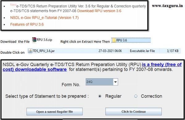 Downloading the NSDL RPU