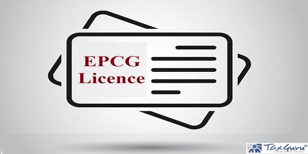 EPCG licence