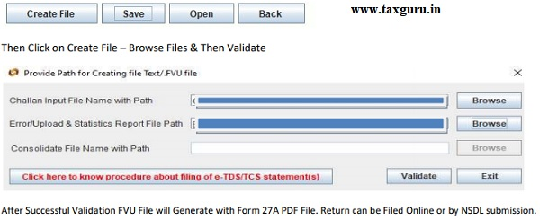 Now Go back to Form & Save the Draft File where CSI file (Step 1) Downloaded & Saved