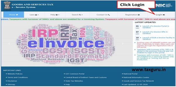 Open E-Invoice Portal