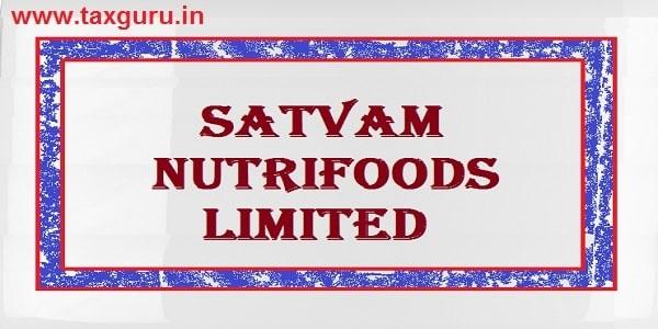 Satvam Nutrifoods Limited