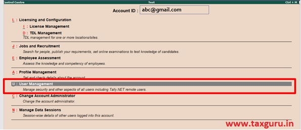 Work from Home using Tally ERP9 Image 4