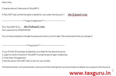 Work from Home using Tally ERP9 Image 6