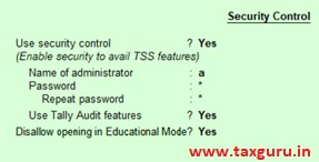 Work from Home using Tally ERP9 Image 8