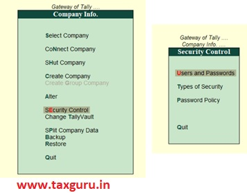Work from Home using Tally ERP9 Image 9
