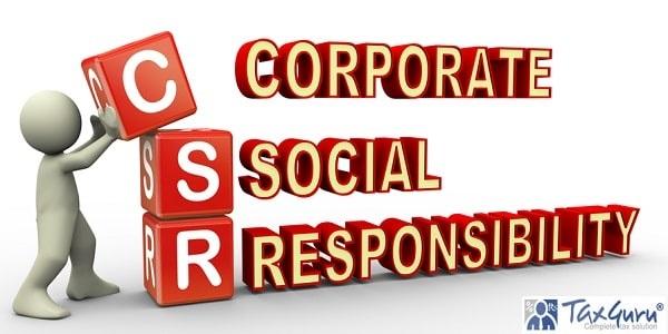 3d render of man placing csr (corporate social responsibility) cubes
