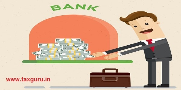 A bank gives out a loan in dollars. Businessman gets a bank loan