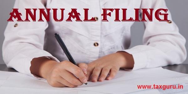 Annual Filing