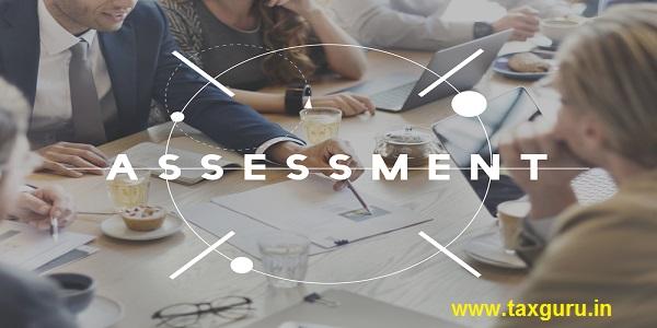 Assessment Management Check Control Evaluation Concept