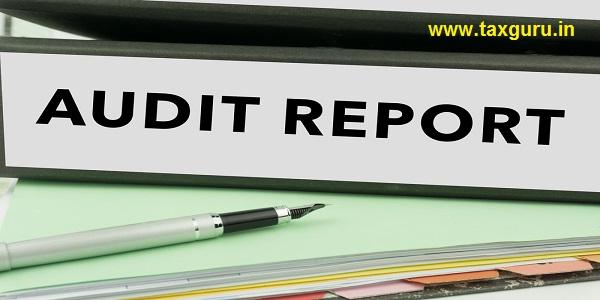 Audit Report - Ring Binder in the office