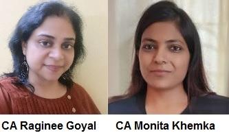 CA Raginee Goyal And CA Monita Khemka