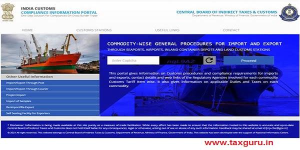 CBIC launches Compliance Information Portal