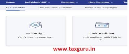 Click on e-Verify