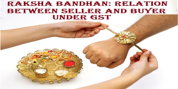 Close up top view of female hands tying colorful rakhi on her brother's hand with brass dish full of puja accessories in selective focus against white background on Raksha Bandhan Festival