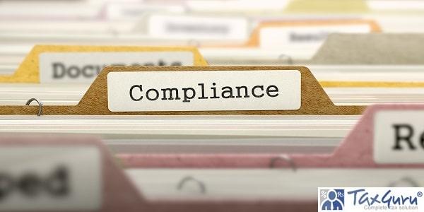 Compliance Concept on Folder Register in Multicolor Card Index. Closeup View. Selective Focus