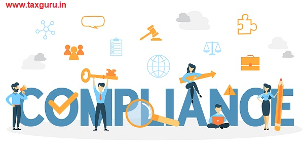 Compliance concept illustration. Idea of regulation and business