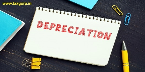 Conceptual photo about DEPRECIATION with handwritten phrase. An accounting method of allocating the cost of a tangible asset over its useful life
