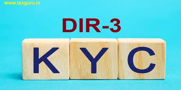 DIR-3 KYC