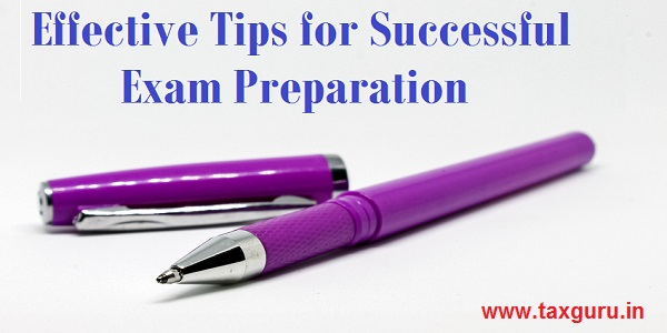 Effective Tips for Successful Exam Preparation