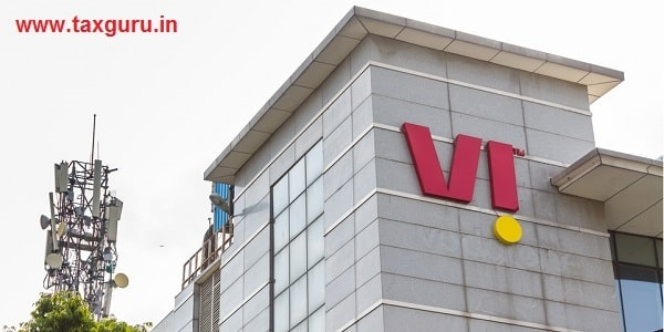 Facade of Vodafone Idea Limited Corporate office