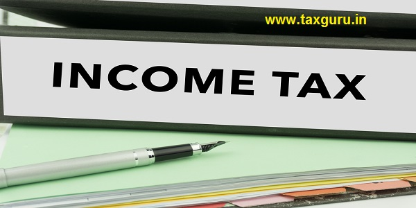 Income Tax - Ring Binder in the office