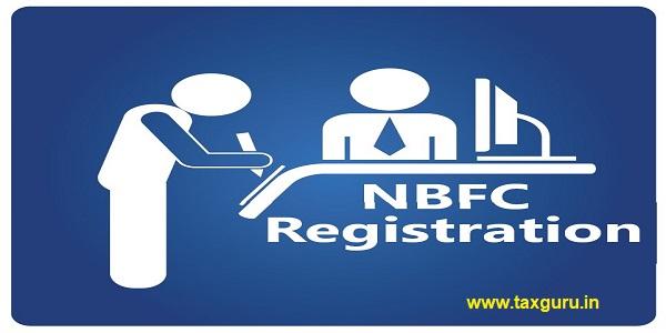 NBFC Registration Sign