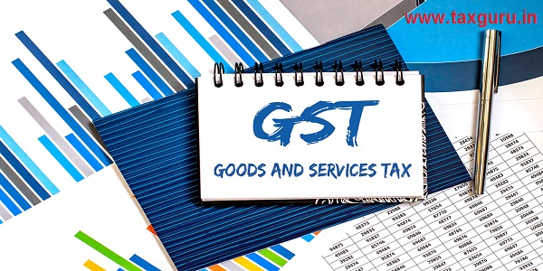 Notebook with Tools and Notes about GST Goods and Services Tax