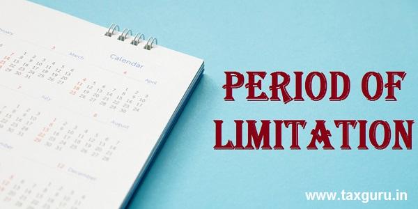 Period of Limitation
