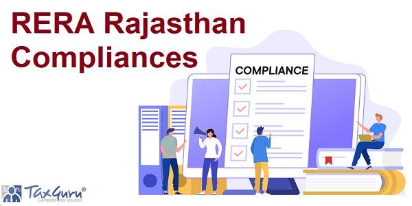 RERA Rajasthan Compliances