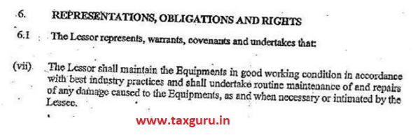 Representations Obligation and Rights
